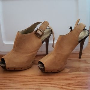 Sam Edelman tan shoes